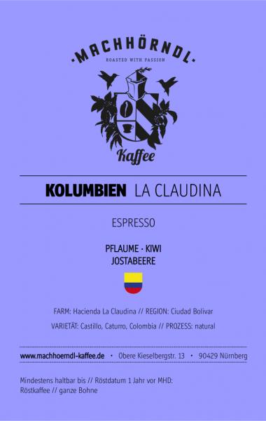 KOLUMBIEN La Claudina - unverpackt