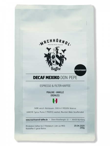 MEXIKO Decaf Don Pepe