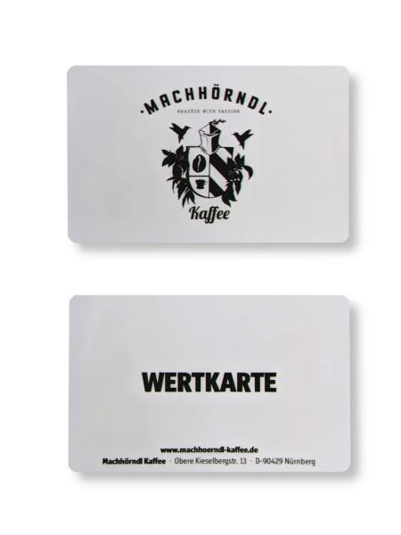 Wertkarte* Machhörndl Kaffee - 25 €