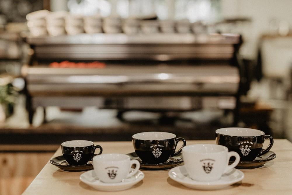 Machhörndl Espressotasse weiß