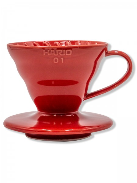 HARIO Porzellan Dripper 01 red