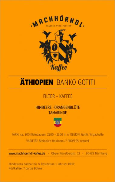 ÄTHIOPIEN Banko Gotiti - unverpackt