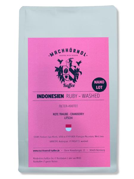 INDONESIEN Ruby - washed